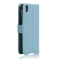 alcatel news - 2016 News Arrival Lychee grain wallet PU leather case with card holder stand For Alcatel One Touch Idol inch