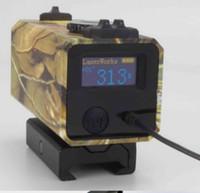 Wholesale Mini Laser Rangefinder for Riflescope laser sight Rifle Scope Mate Laser scope distance meter for hunting DR012