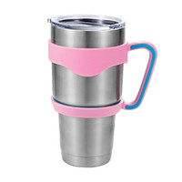 Wholesale 30Oz for YETI Rambler Handles Cool summer for Outdoor Travel Portable Double Wall Car Cups NO LOGO