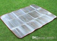 Wholesale Camping Hiking Festival Aluminium Sleeping Mat Damp Proof x cm
