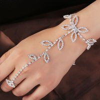 american bridesmaid dresses - New Fashion Cheap Wedding dress wedding Bracelets crystal Bracelet bride Bridesmaid curved Vintage Dresses graduation party dance show