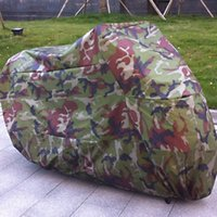 Wholesale High Quality cm Motorcycle Motorbike Covering Camouflage Color Waterproof Dustproof UV resistant Cover For Honda etc