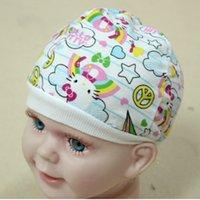 Wholesale 1 X Cute Cotton Baby Boys Girls Cap Hat for Infant Newborn Kids Color Random