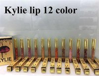 Wholesale NEW Kylie Lord Metal Matte Lipstick Lord Liquid Lip Stick LEO limited Birthday Edition Collection long Lasting Gold Lipsticks colors