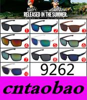 al por mayor súper gafas de sol de los hombres-El precio de fábrica 10 colorea los vidrios de deportes al aire libre estupendos de los vidrios de los deportes al aire libre de las gafas de sol de la manera de las mujeres de los hombres de la alta calidad que envían libremente