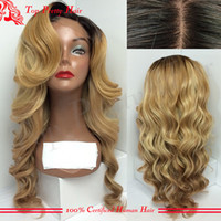 best blond hair - Best Virgin Chinese Glueless Blond Full Lace Body Wave Wig Human Hair Lace Front Wigs Blonde Virgin Hair Lace Wigs For White Women