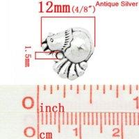 antique gift shop - Charm Pendants Chicken Rooster Animal Antique Silver x12mm K03148 seasons pendant shop pendant pendant
