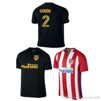 Wholesale Thailand Quality DHL Atletico Madrid Jersey GRIEZMANN home F TORRES thai quality Atletico Madrid olive Jerseys