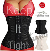 beige fat - DHL Fedex Free Fitness Fat Burning Girdle Belt Sexy Women Body Waist Trainer Shapers Underbust Belt Corset Reductora Shapewear L43