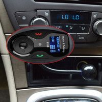 acura bluetooth iphone - car dvd Car Kit MP3 Player Wireless Bluetooth FM Transmitter Modulator LCD in car Hands free Caller ID Display For iPhone for Samsung
