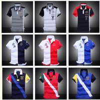 Wholesale 2016 new POLO air force one Top Quality embroidery Aeronautica militare Men Shirts Brand POLO diamond Fashion shark clothing
