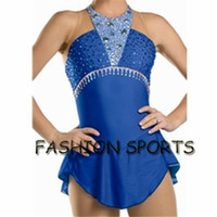 Wholesale Custom Figure Ice Skating Dresses New Brand Skating Dress For Competition HB2917