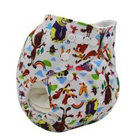 bamboo reusable nappies - 2016 High Quality Adjustable Diaper Covers Washable Reusable Baby Diapers Couche Lavable Bamboo Fiber Baby Nappy Cover For Baby Good Care