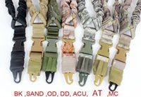 Wholesale Top Quality1000D Heavy Duty Point Single Point Bungee Rifle Carbine Shotgun Gun Sling With Side release buckle