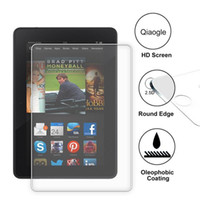 Wholesale Qiaogle Anti explosion Tempered Glass Screen Protector Ultra Hard For Amazon Kindle Fire HDX Zoll Premium Screen Protector