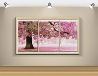 Wholesale Needlework DIY DMC Cross Stitch Sets Embroidery Kits Precise Printed Romantic Trees Factory Sale Counted Cross Stitching