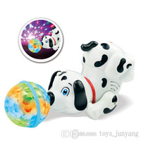 Wholesale Hot Sale Interactive Toy Dog Electronic Dogs Singing Dancing Rotating Walking Musical Electronic Pets Dog Robot Dog Gift For Children