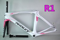 bicycles made in china - Pink for women carbon bike frames Made in China Good quality Bike carbon frameset RIDLEY road bicycle carbon frameset