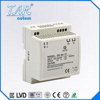 Wholesale factory provide VAC input voltage W v v v vdc din rail type switching mode power supply DR60W V