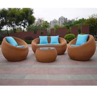 Outdoor furniture rattan wicker exterior bliss.