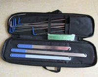 auto door open tool - locksmith tool Klom auto quick open car door tool cross lock pick quick open kit tool set