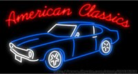 american red beer - American Classics Car Neon Sign Custom Real Glass Tuble Light Beer Bar Disco KTV Club PUB Display Store Advertisement Sign quot x24 quot