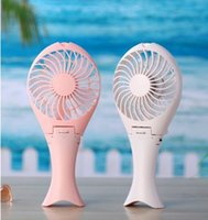 Wholesale 180 degree folding handle Mermaid mini fan stepless speed regulation lithium battery small fan