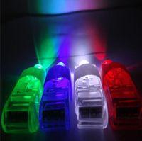 Wholesale 1000pcs Manufacturers sale LED Finger Lamp LED Finger Ring Lights Glow Laser Finger Beams LED Flashing Ring Party Flash Kid Toys Colors