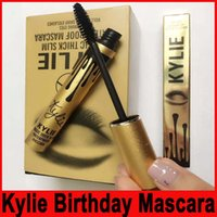 Wholesale Kylie Magic thick slim waterproof mascara kylie Black Eye Mascara Long Eyelash Eyes Cosmetics Makeup Black Lash Volume Mascara