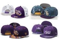 Wholesale NCAA LSU Tigers Snapbacks LSU Caps American College Snapbacks Hats Free Size