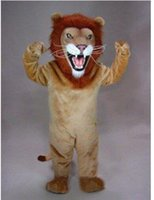 Wholesale African2016 Lion Mascot costume party fancy dress gift made custom EMS