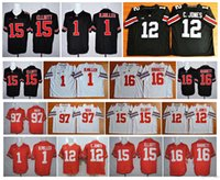 Wholesale 2016 Hot cheap Ohio State Buckeyes Braxton Miller Cardale Jones Ezekiel Elliott Joey Bosa Jersey JT Barrett College football jerseys