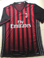 Wholesale A Thai quality AC Milan Jersey home red AC Milan BACCA BERTOLACCI KAKA football jerseys Free shippin