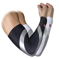 Wholesale 2Pcs Set Ciclismo Cycling Arm Sleeves Sun UV Protection Bike Bicycle Arm warmers for Outdoor Game Sports Cycling Hiking Basketball Brace Bar