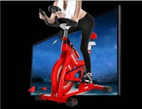 Wholesale 708 Fitness Equipment English Dynamic sense Single car ultra quiet home Magnetic Exercise Bike foot movement