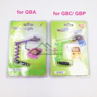 Wholesale Worm Light Backlight for GBA New Led Illumination Worm Light for Nintendo GBC GBP Game Console