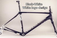 Wholesale High quality carbon bike frames K UD T700 BB30 BB68 Black White design Synapse carbon frameset Made in China