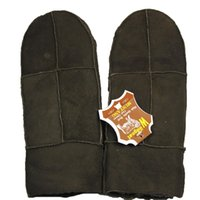 Wholesale New fashion Male fur one piece gloves genuine leather mitten autumn and winter thermal ride gloves