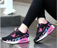 air ocean - with box New Fashion ladies leisure sports shoes Ms increased air cushion shoes
