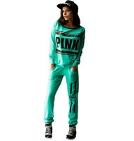 ankle sleeve for basketball - Print Leopard Letter Love Pink Jogging Suits for Women Brand Tracksuit Womens Sports Tracksuits Sweatshirt Pants Set