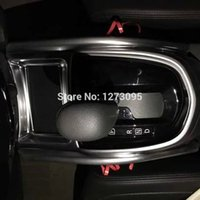 auto parts gear - ABS Chrome control gear decorative frame For Nissan Qashqai J11 Auto parts car Styling Interior Accessories