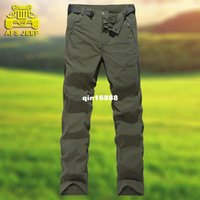Wholesale AFS JEEP men s battlefield Jeep size waterproof quick drying pants outdoor sports and leisure trousers charge