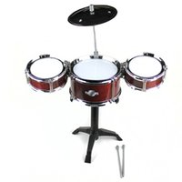 Wholesale Aicen Drum Set Complete Junior Kit with Cymbal Stool Sticks Everything You Need to Start Playing Table Top Games Desktop Drum Set
