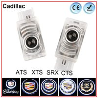 ats logo - Special For Cadillac XTS ATS SRX CTS Car Door Logo Lights Laser Courtesy Lamp Projector Original Design Nondestructive Installation