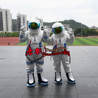 adult astronaut costume - Space astronauts polyester waterproof cartoon mascot costume adult size reality custom clothing