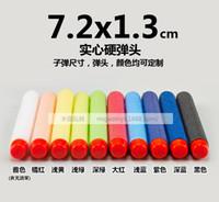 Wholesale 2016 New HO Brief cm Refill Bullet Darts for Nerf N strike Elite Series Blasters Kid Toy Gun OH Colors TOPB1291
