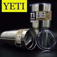 Wholesale Stainless Yeti oz oz Cups Cooler YETI Rambler Tumbler Travel Vehicle Beer Mug Double Wall Bilayer Vacuum Insulated OTH242