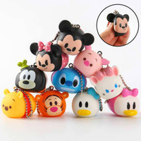 Wholesale Hot CM PVC MICKEY Minnie Mouse Donald Duck Daisy Cartoon Action Figures Toy For Baby Gifts