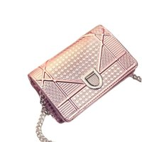 Wholesale Summer New Hot Fashion Embossing Chain women bag Europe and America style luxury handbags women bags designer For party