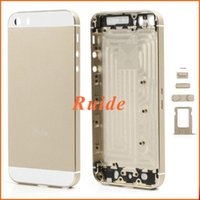 Wholesale For iphone s Housing Metal Middle Frame Chassis Plate Bezel Battery Back Cover Replacement for iPhone S